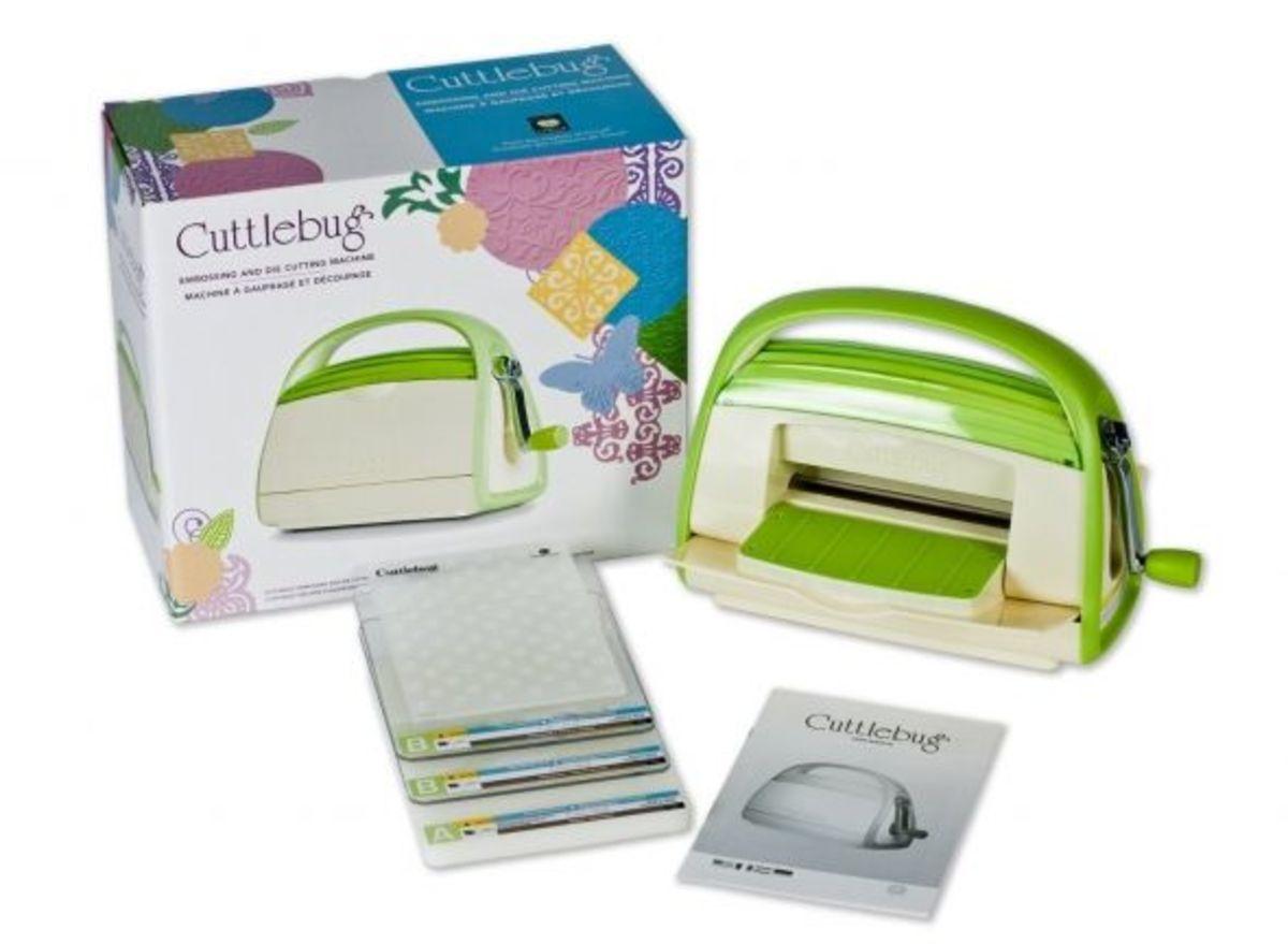 Cuttlebug cutter embosser
