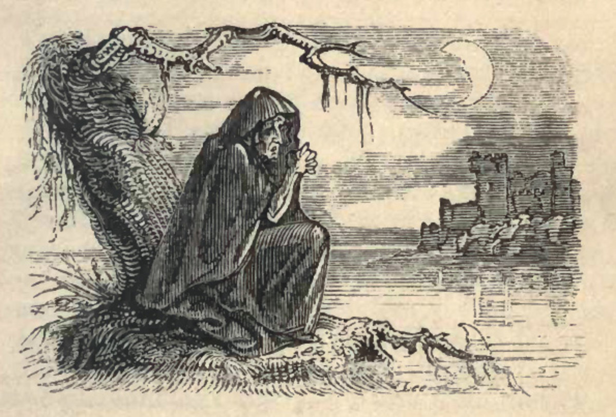 The Irish Legend of the Banshee is closely related to the Welsh Cyhyraeth