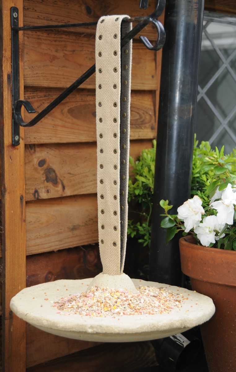 How to Make a Decorative Concrete BirdFeeder