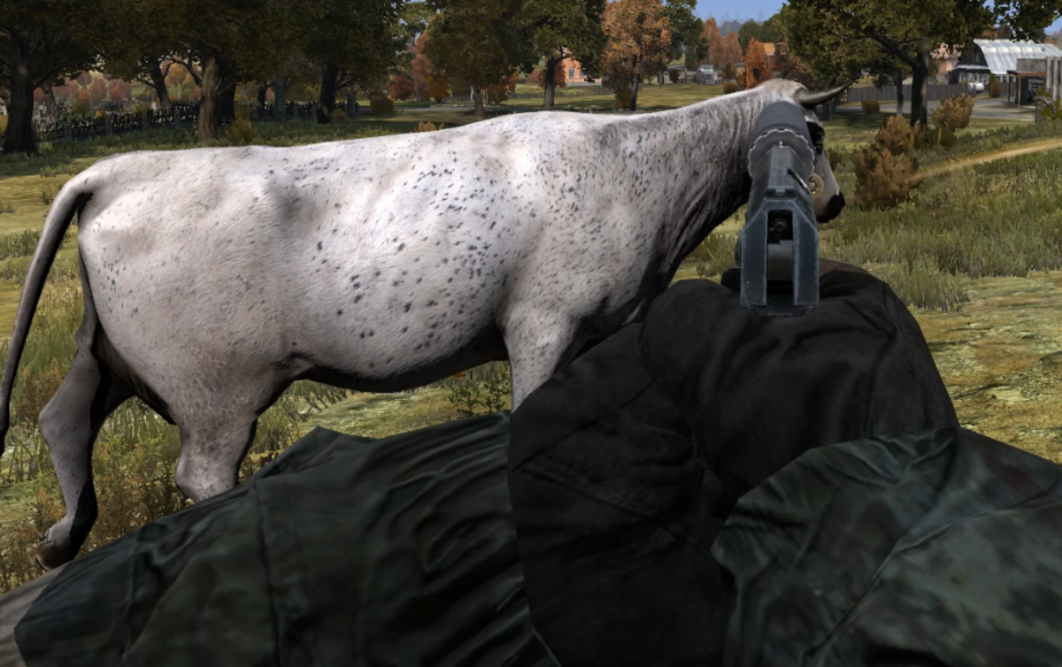 You will need to get much closer when hunting with a handgun.