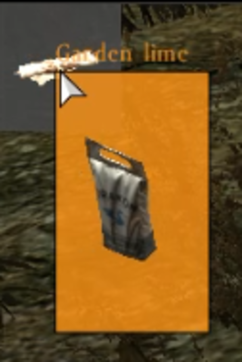 An orange background indicates that crafting is possible.