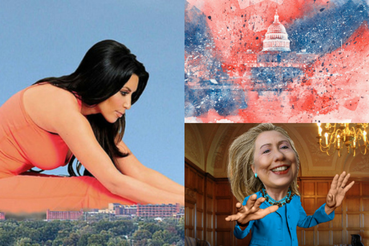 Kim Kardashian West, Hillary Clinton, and the White House