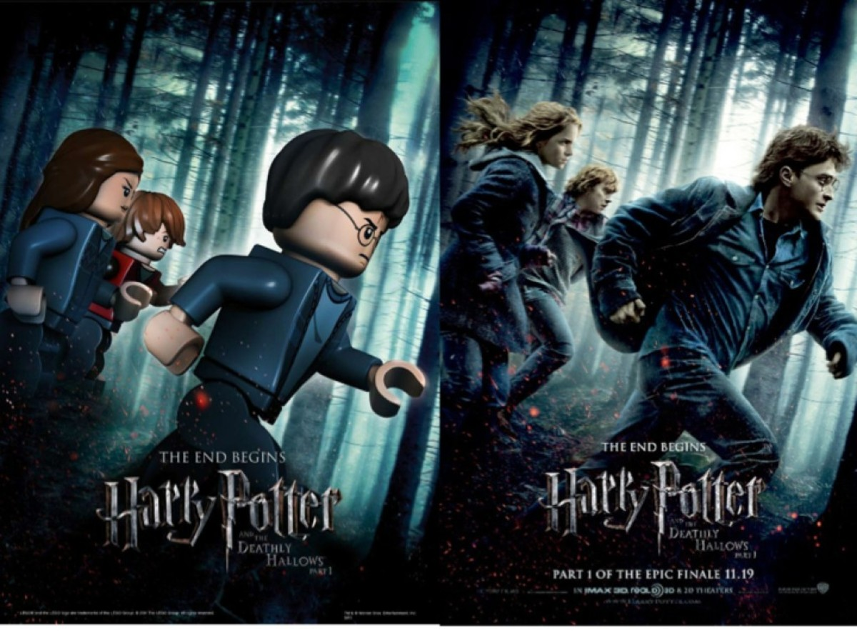 LEGO Harry Potter and the Deathly Hallows Part 1 Movie Poster