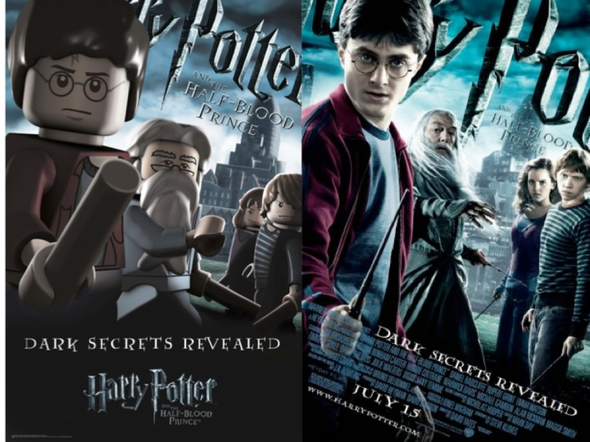 LEGO Harry Potter and the Half-Blood Prince Movie Poster