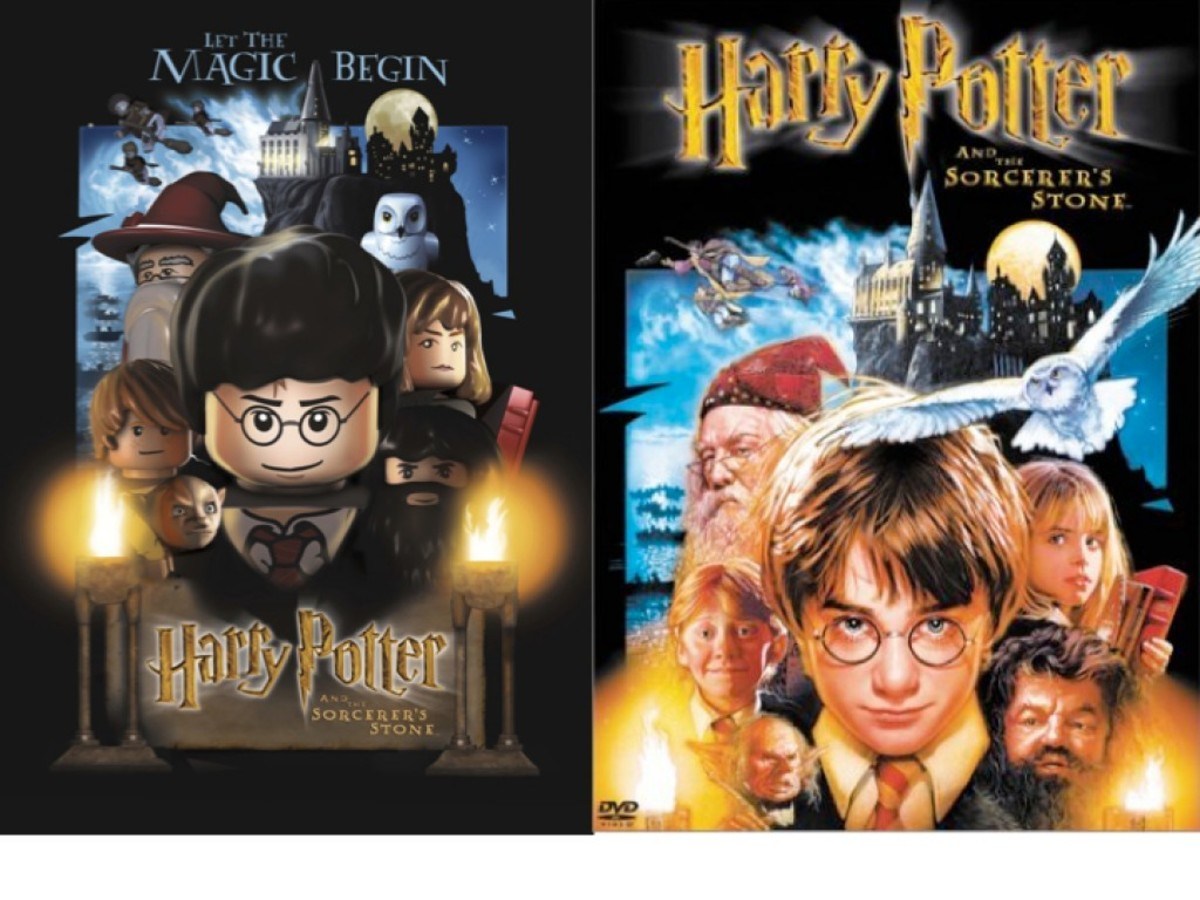 LEGO Harry Potter and the Sorcerer's Stone Movie Poster