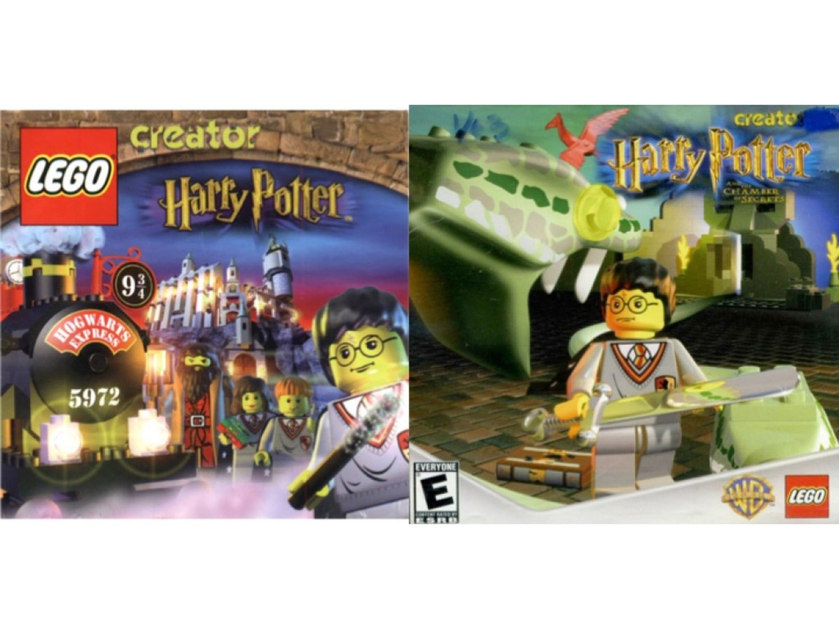 LEGO Creator Harry Potter Video Game Art