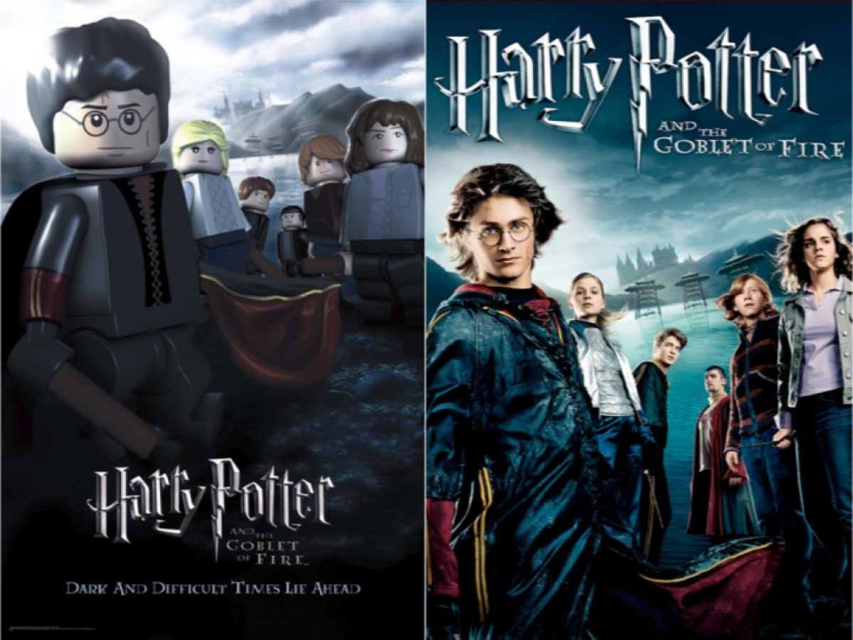 LEGO Harry Potter and the Goblet of Fire Movie Poster