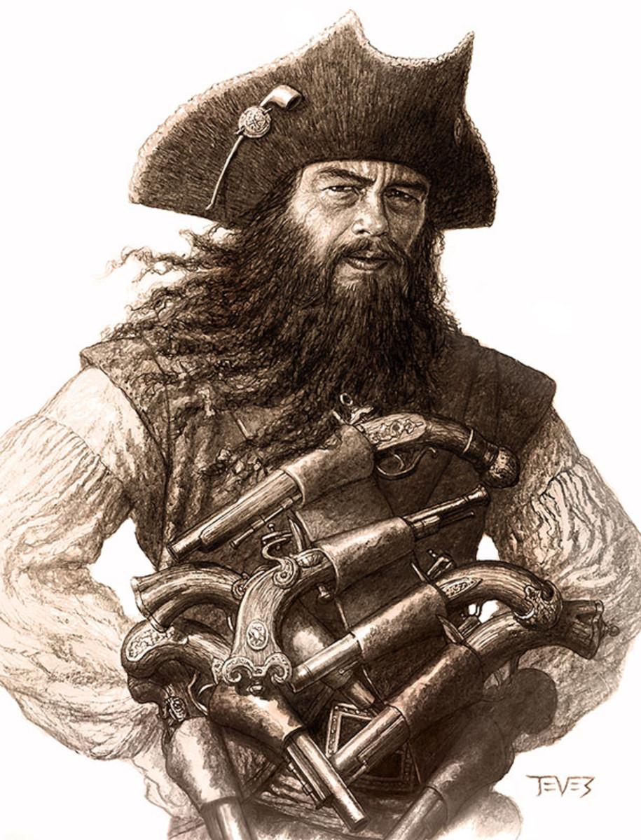 Blackbeard the Pirate (1680-1718)