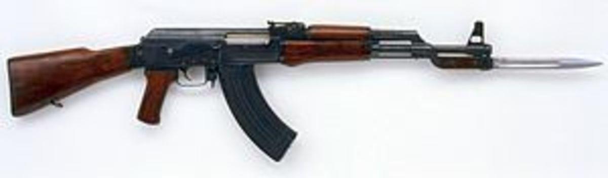 Here's my handy-dandy AK-47.