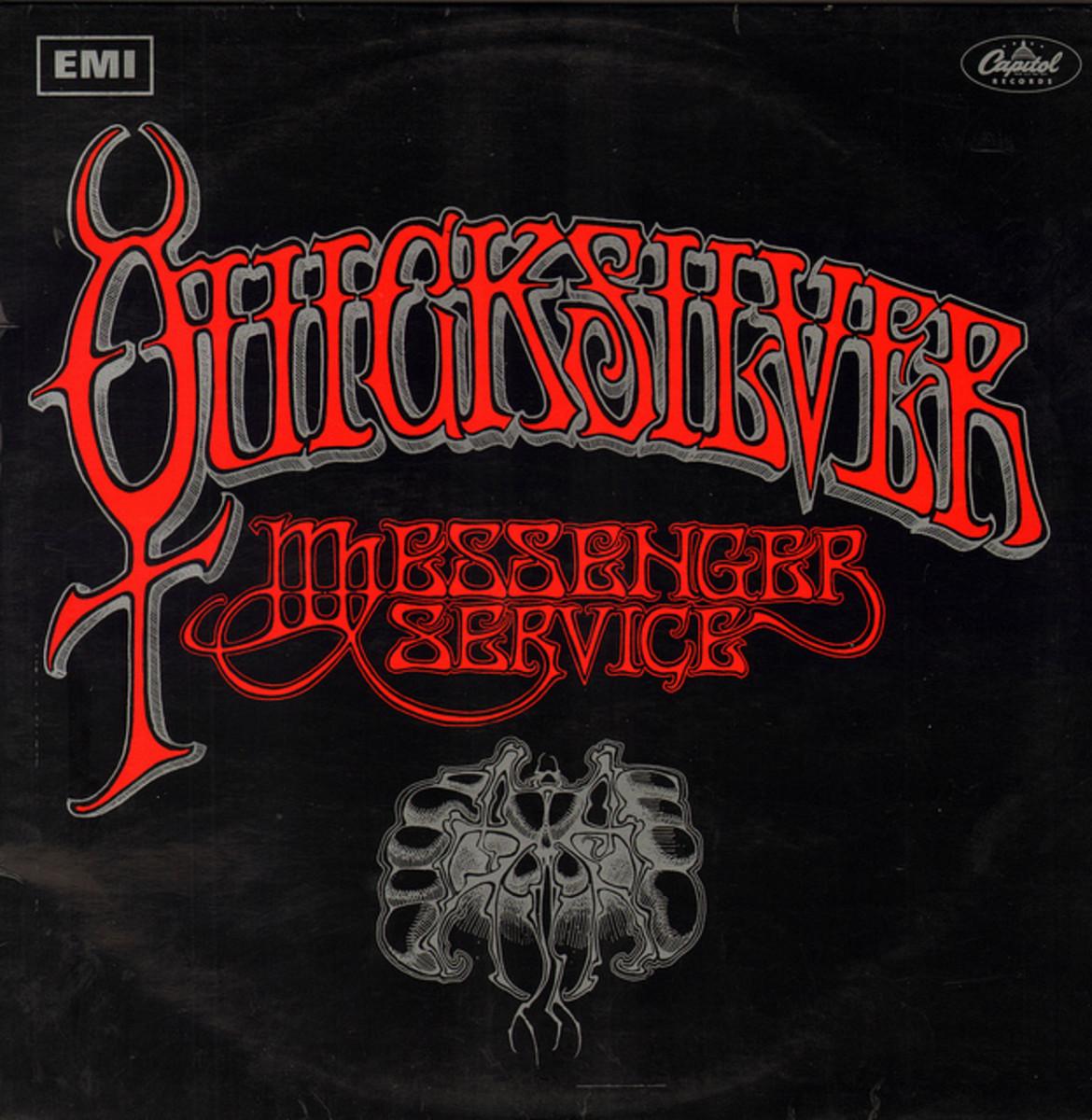 "Quicksilver Messenger Service ""Quicksilver Messenger Service"" EMI / Capitol Records ST 2904 12"" LP Vinyl Record, UKPressing (1968) Album Cover Art by Rick Griffin"