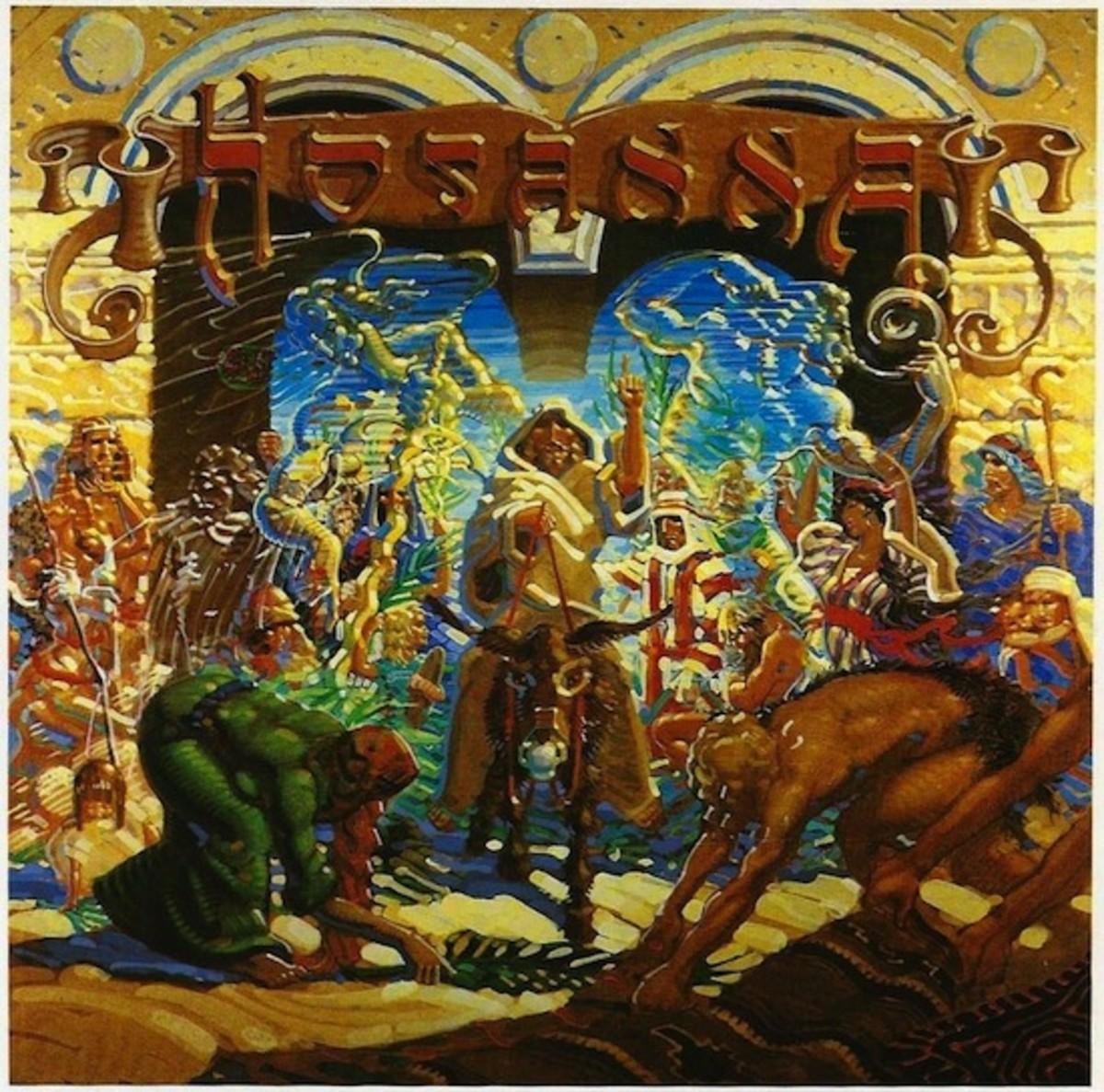 "Hosanna ""Hosanna"" Marantha Records 12"" LP Vinyl Record, US Pressing (1979) Album Cover Art Rick Griffin"
