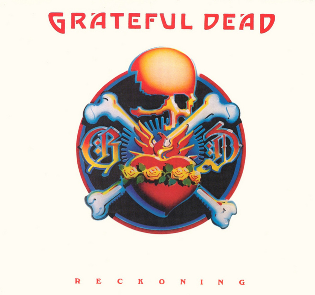 "Grateful Dead ""Reckoning"" Arista Records A2L 8604 12"" LP Vinyl Record, US Pressing (1981) Album Cover Art by Rick Griffin"