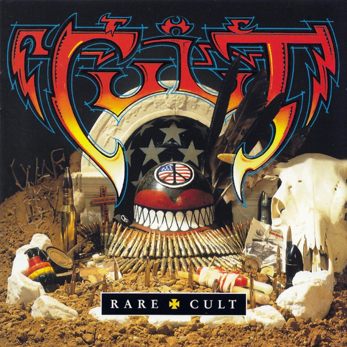 "The Cult ""Best Of Rare Cult"" Beggars Banquet US BBL 2029 CD Album US Pressing (2000) CD Album Cover Art Rick Griffin"