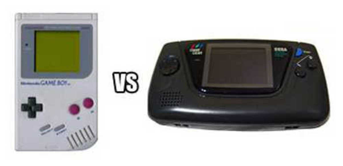 Sega Game Gear vs. Nintendo Game Boy