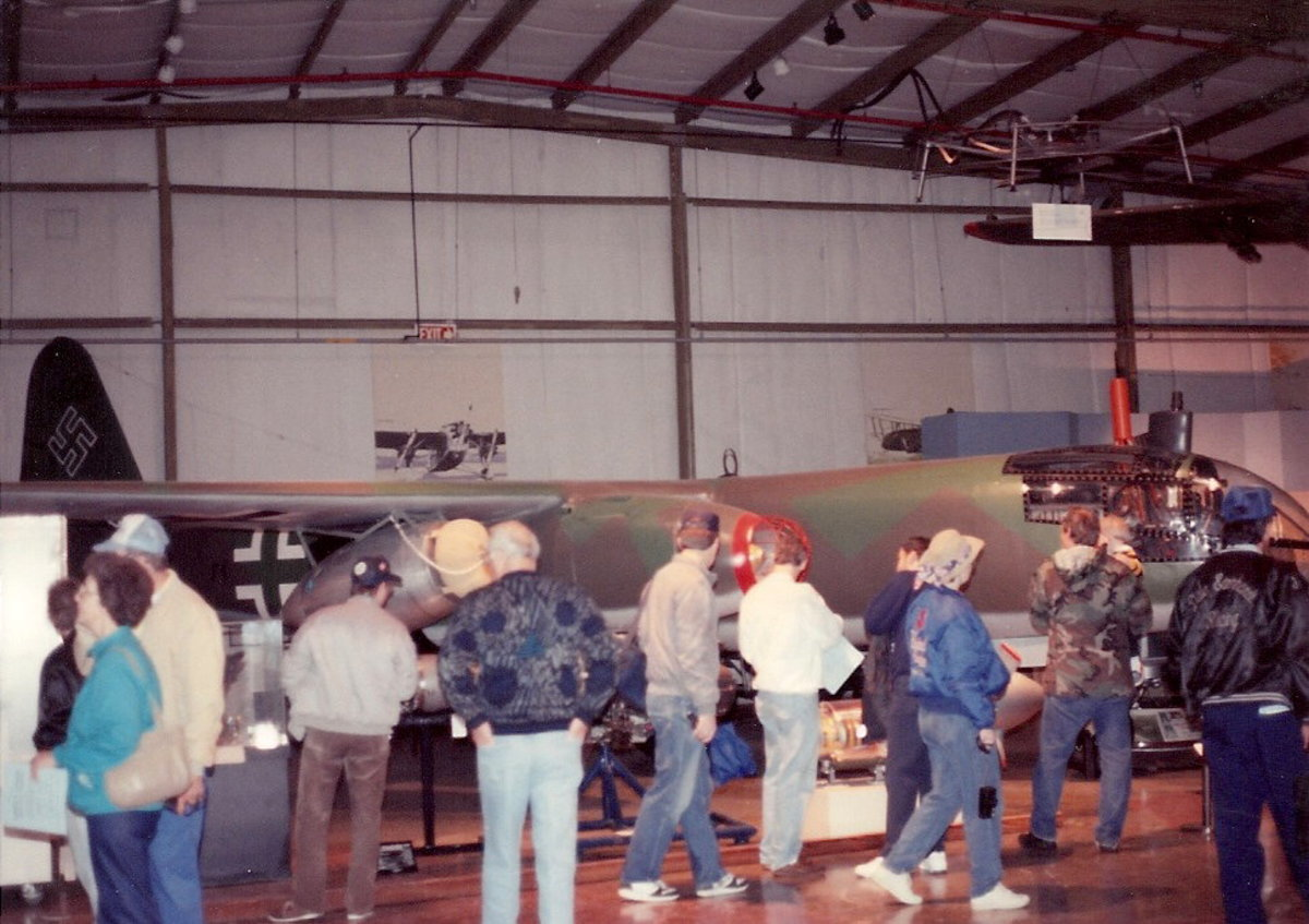 The restored Ar-234 at the Paul E. Garber Facility, May 1998.