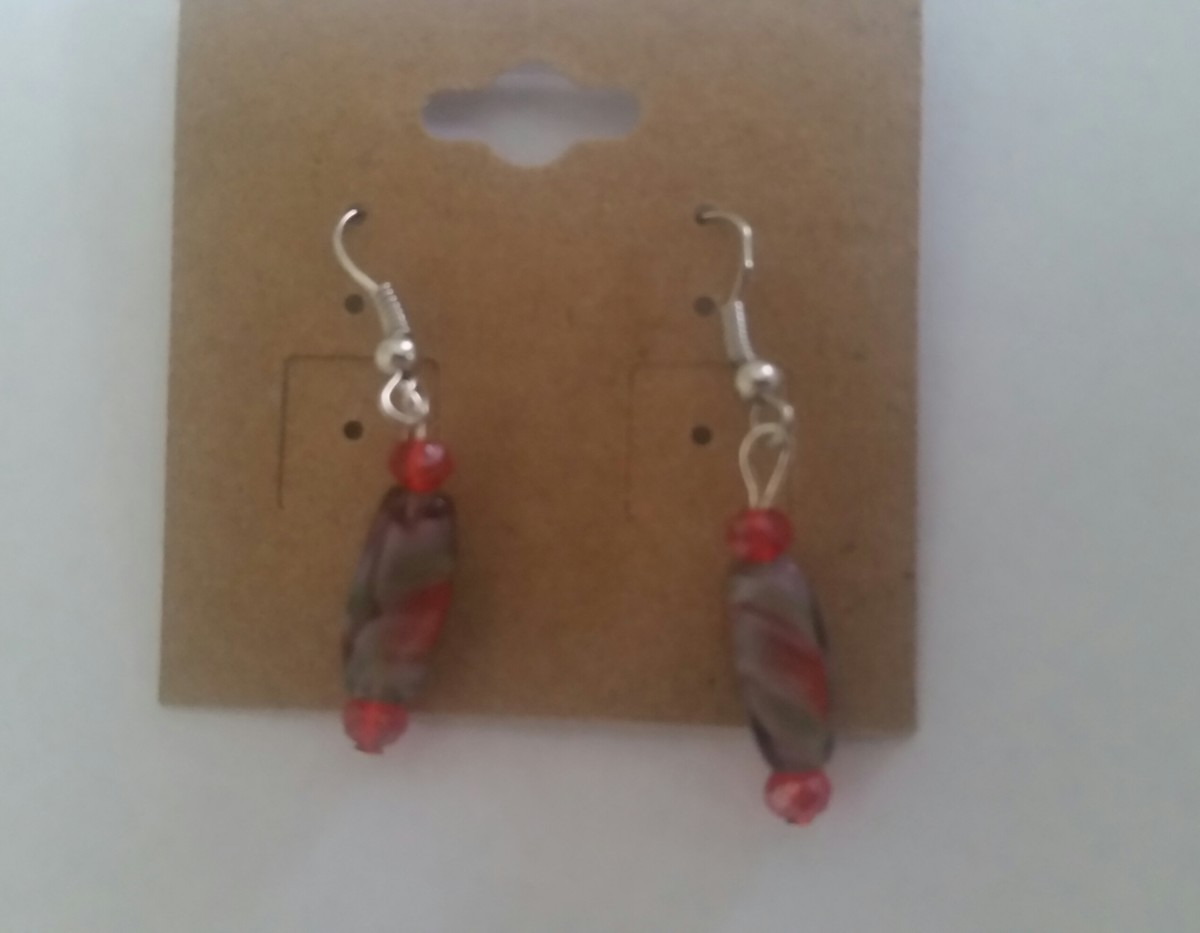 Earrings that I made for gifts