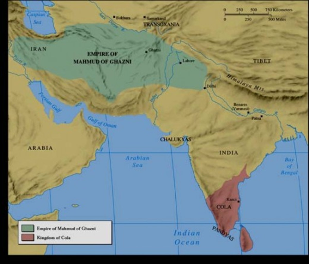 The Ghazni empire