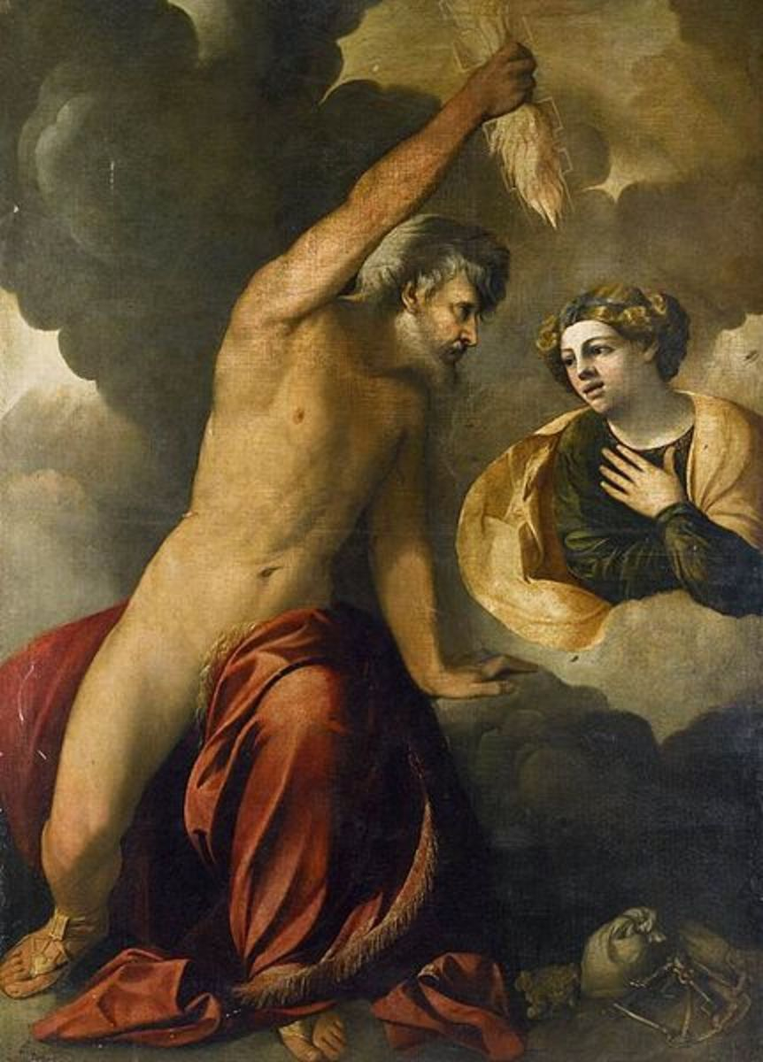 Zeus and Semele - Dosso Dossi (1490–1542) - PD-art-100