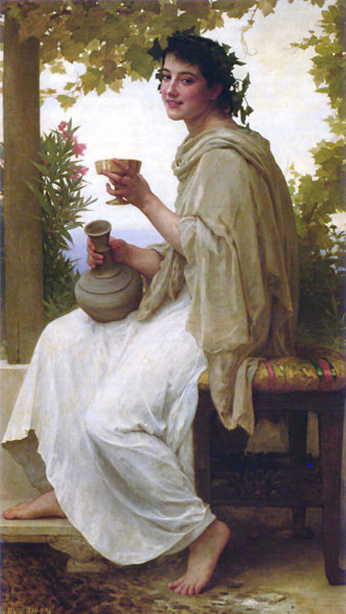 A Follower of Dionysus - William-Adolphe Bouguereau (1825–1905) - PD-art-100