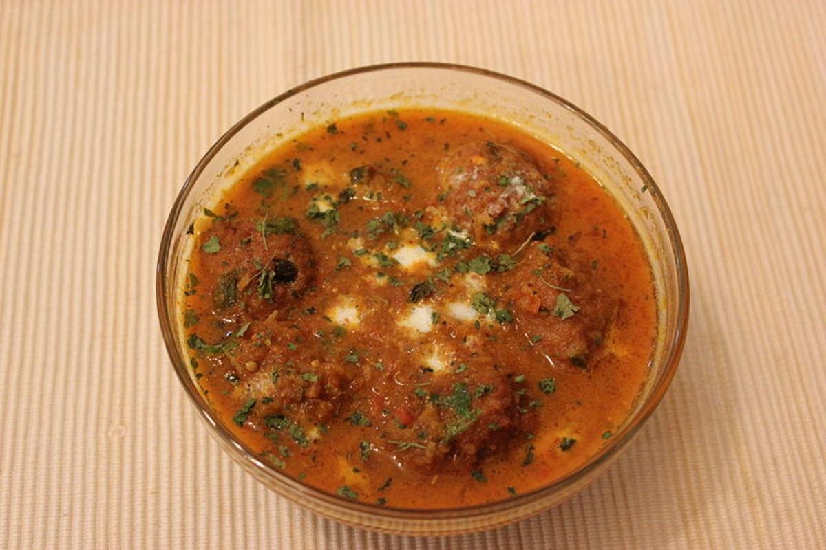 Lauki Malai Kofta Curry