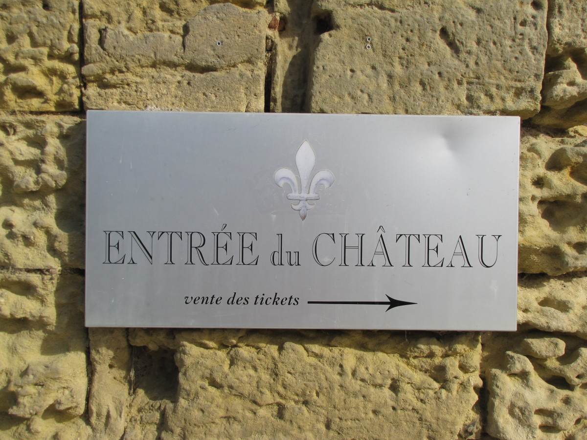Chateau Entrance --  Ticket Sales