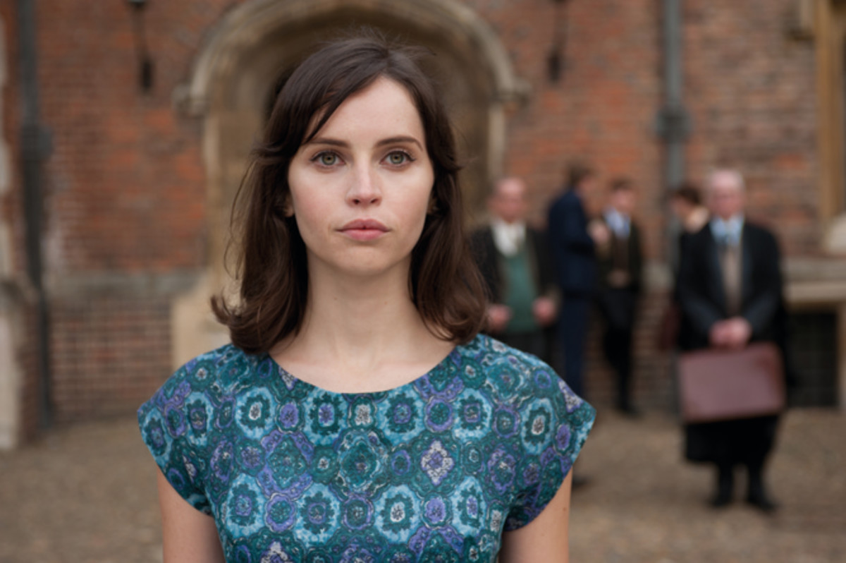 Felicity Jones is equally superb as the tortured Jane