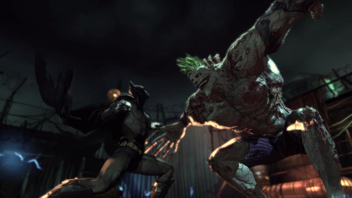 Batman VS Titan Joker