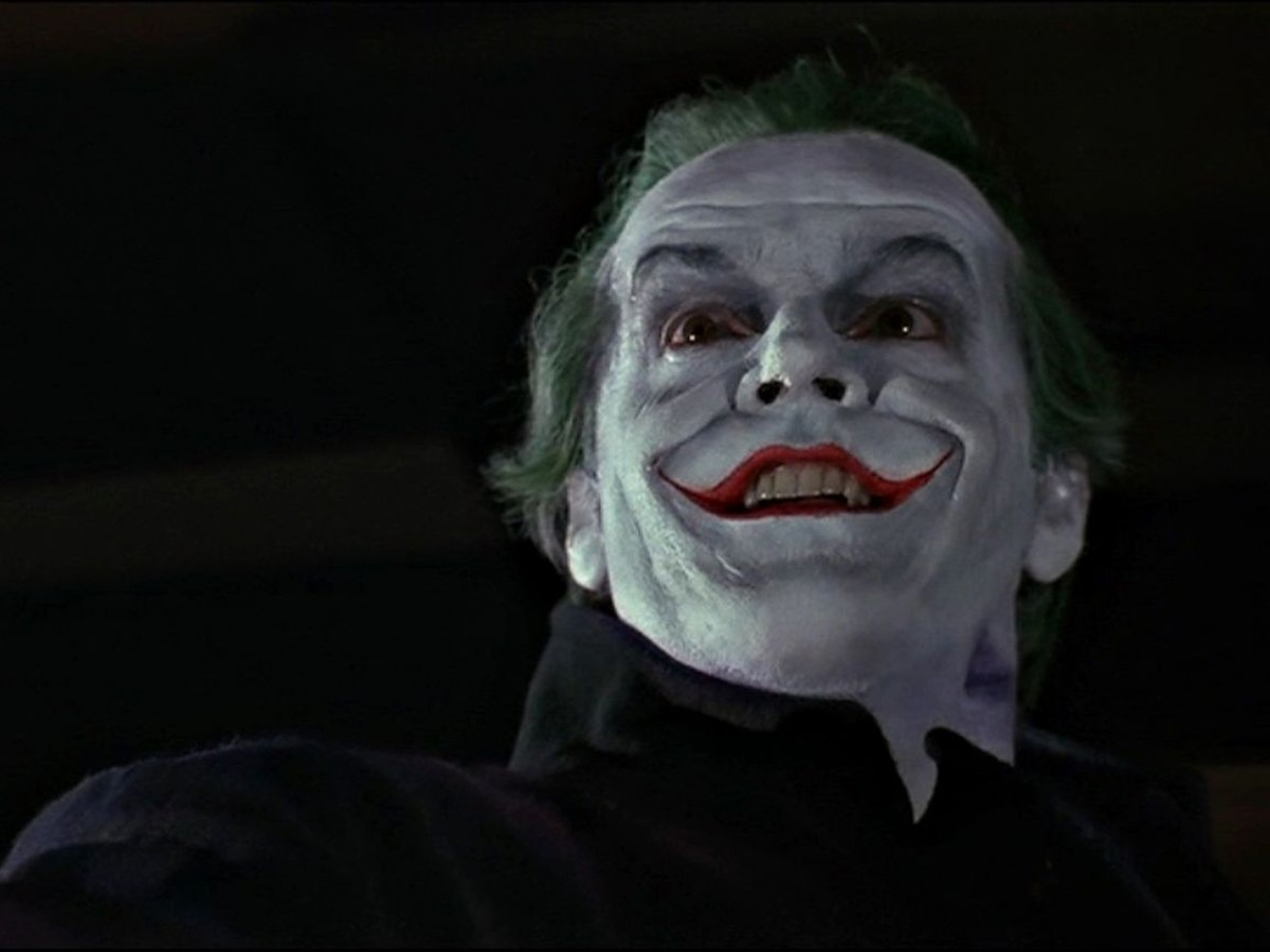 Jack Nicholson as the Joker (Batman Movie)