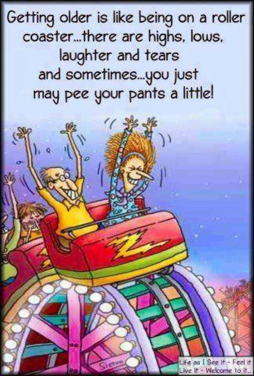 Getting Older Humor : Funny Cartoons About Aging