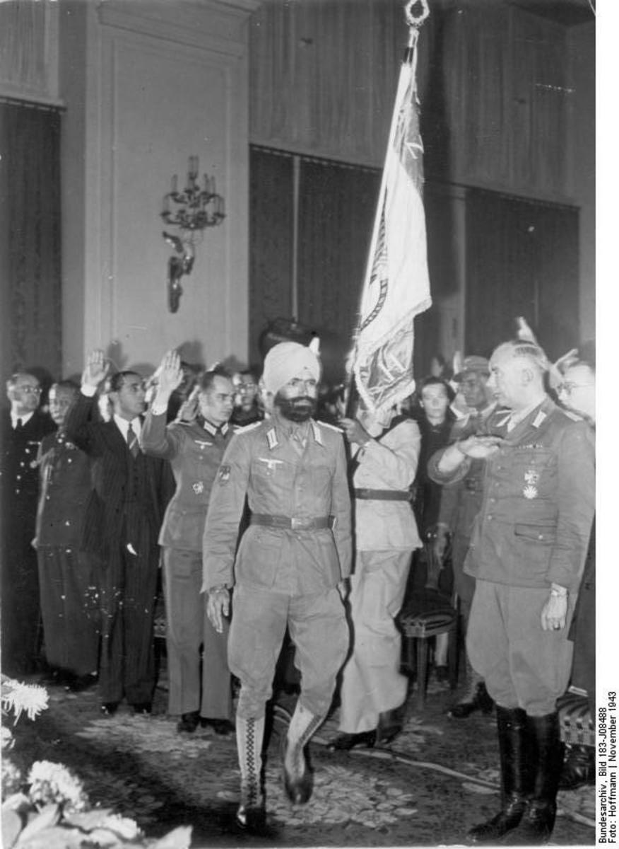 Indian Officer general attending Function in Berlin