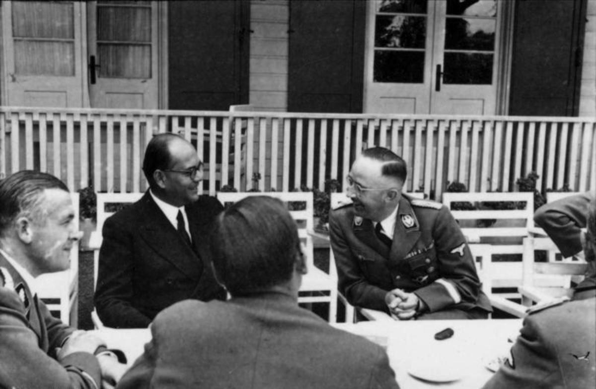 Bose with Himmler