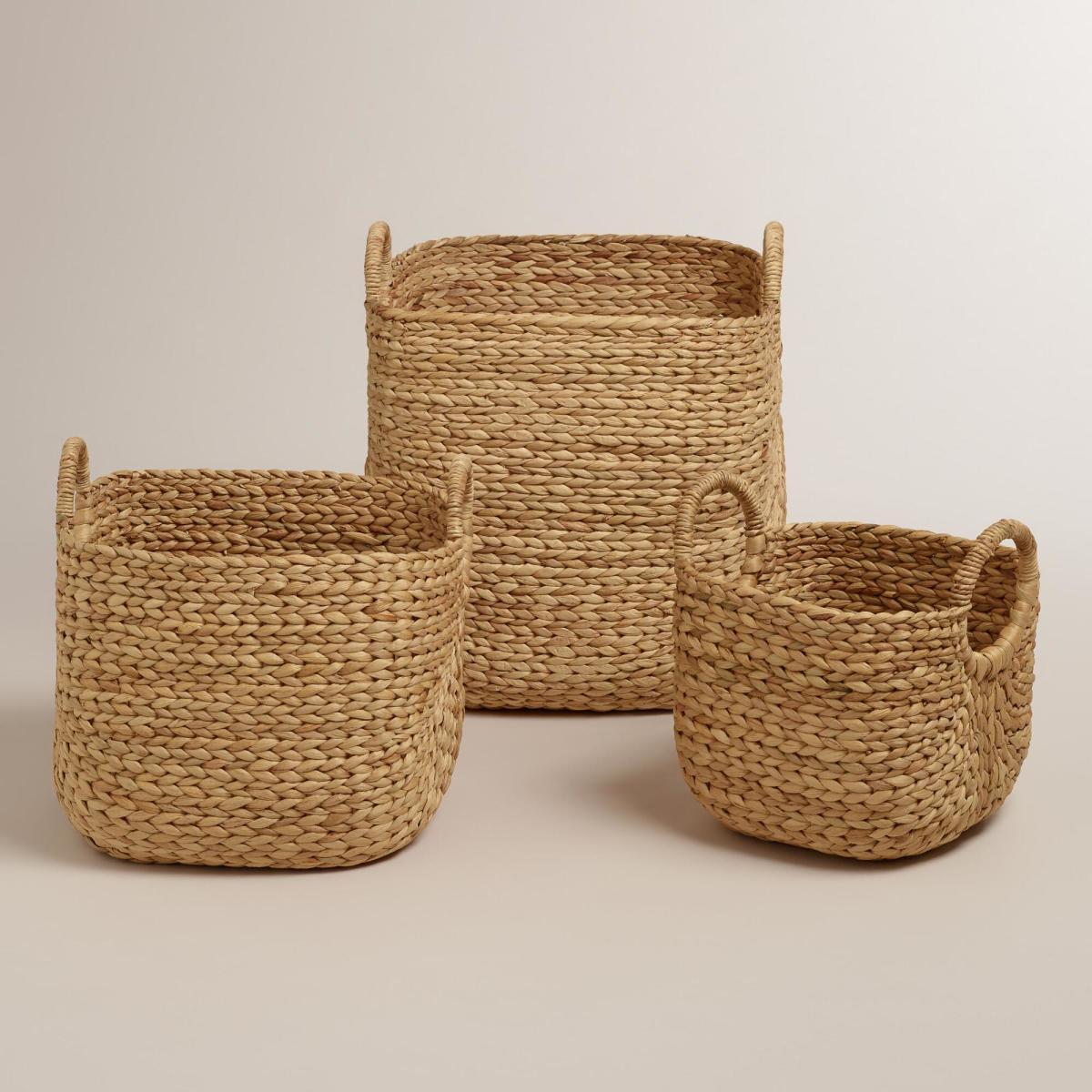 Aimee Arrow Baskets from World Market