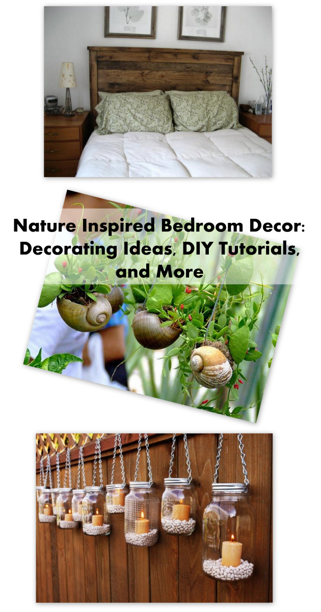 Nature Inspired Bedroom Decor: Decorating Ideas, DIY ...