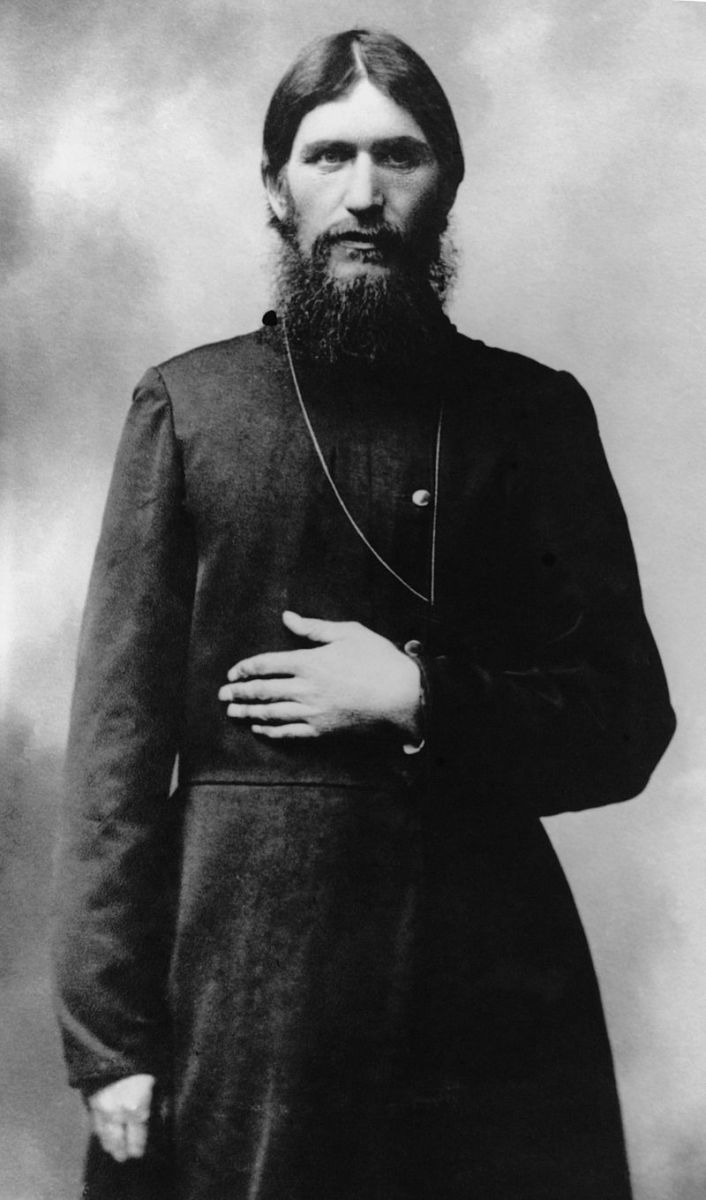 Rasputin in 1914 when he lived in Moscow