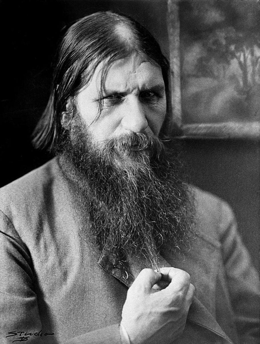 Rasputin and his un-cared for beard.