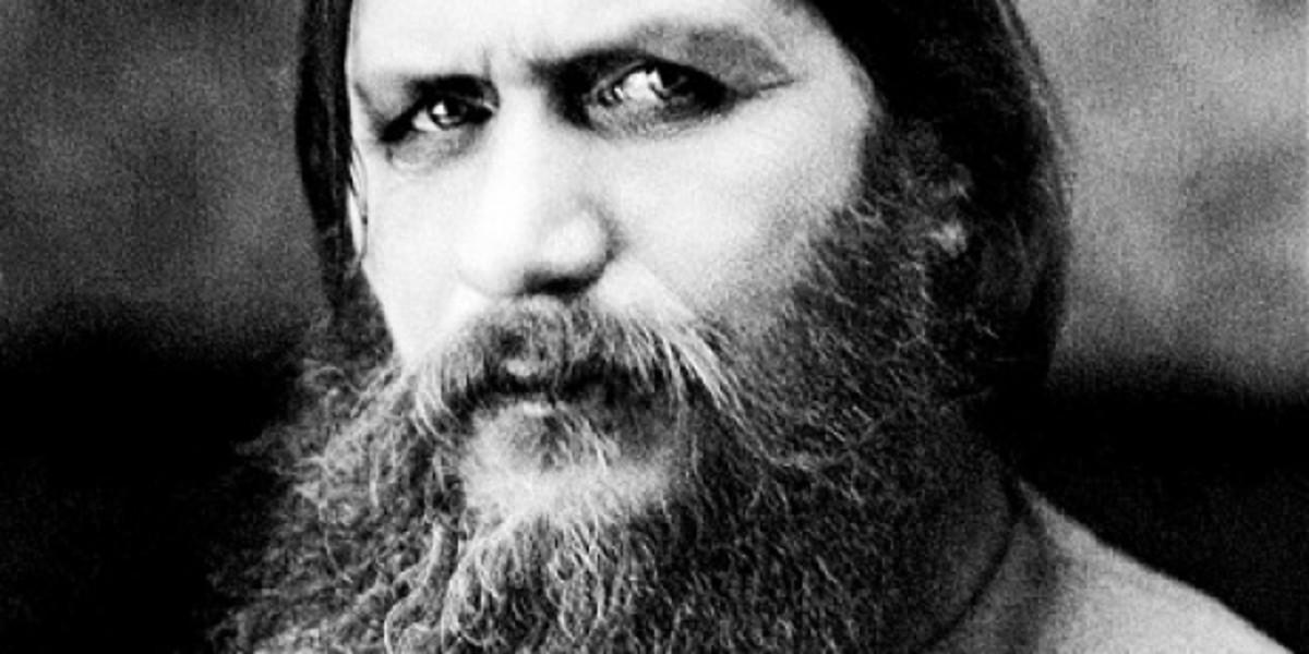 Rasputin's piercing gaze.