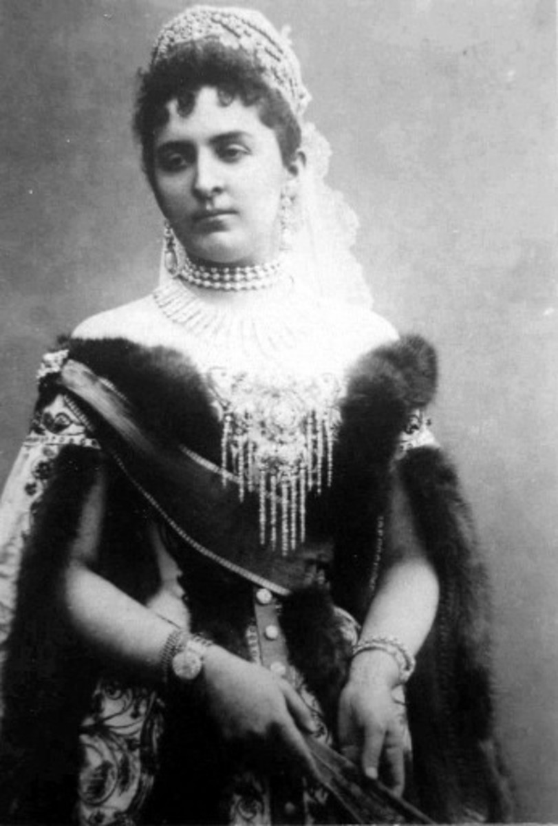 Princess Anastasia of Montenegro had once been considered a great beauty of the court.