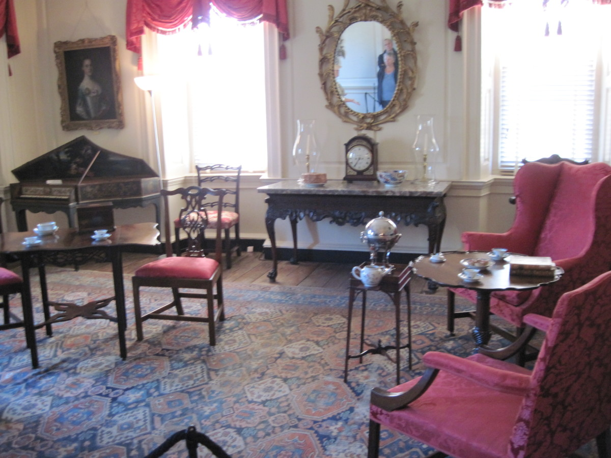 Entertaining Room at Heyward-Washington House