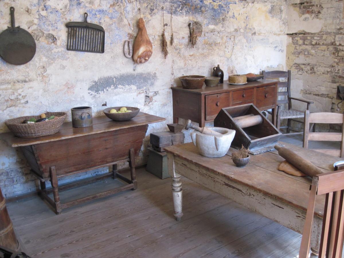Kitchen At Heyward Washington House