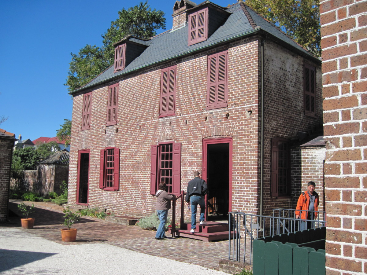 Building Where Kitchen Is Located At Heyward-Washington House