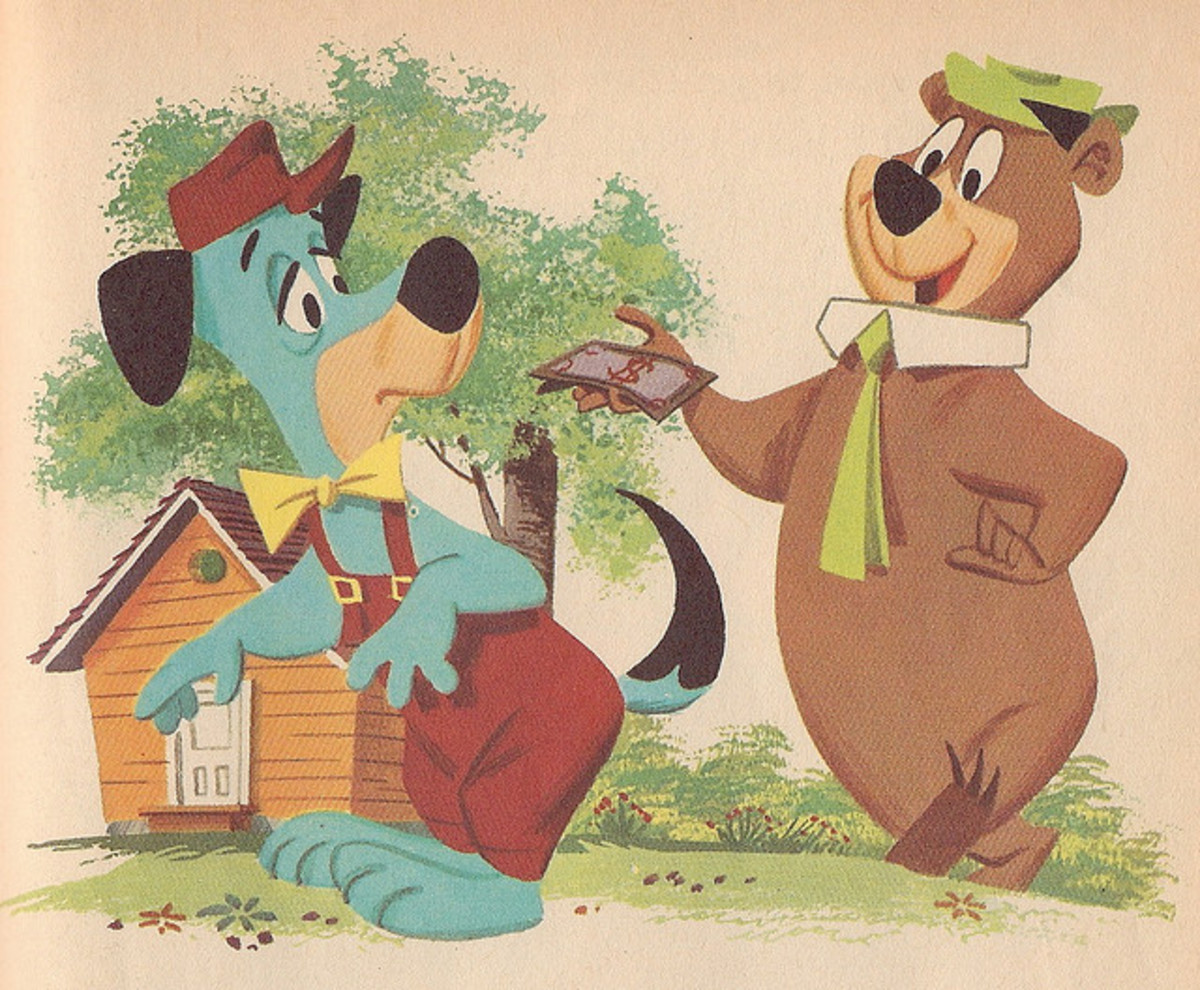 Yogi Bear started off as a segment on the Huckleberry Hound Show