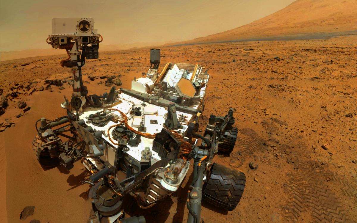 Mars Rover: Curiosity