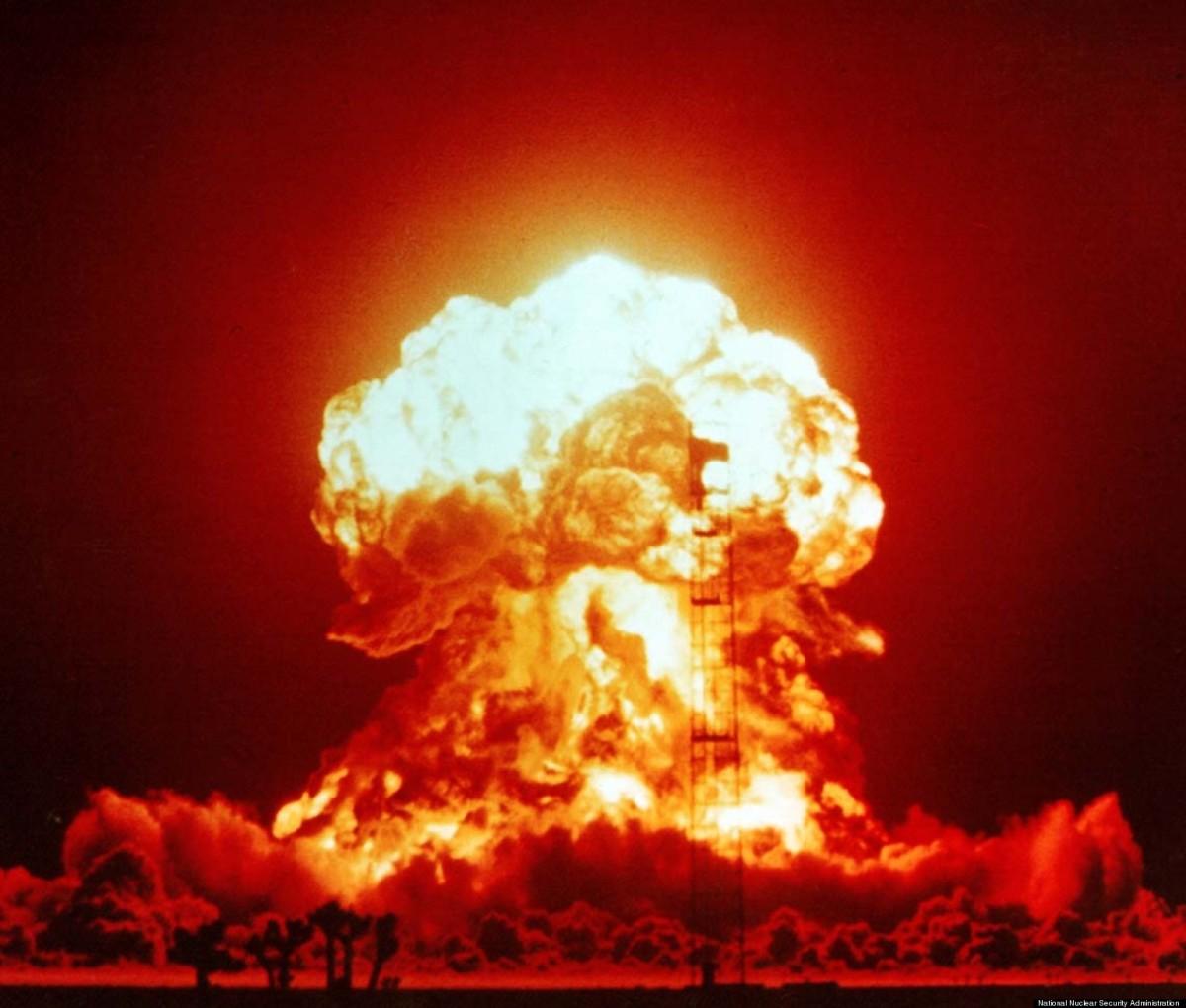 Atomic Bomb Vs. Color TV