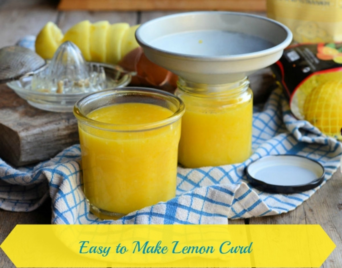 Easy to Make Lemon Curd