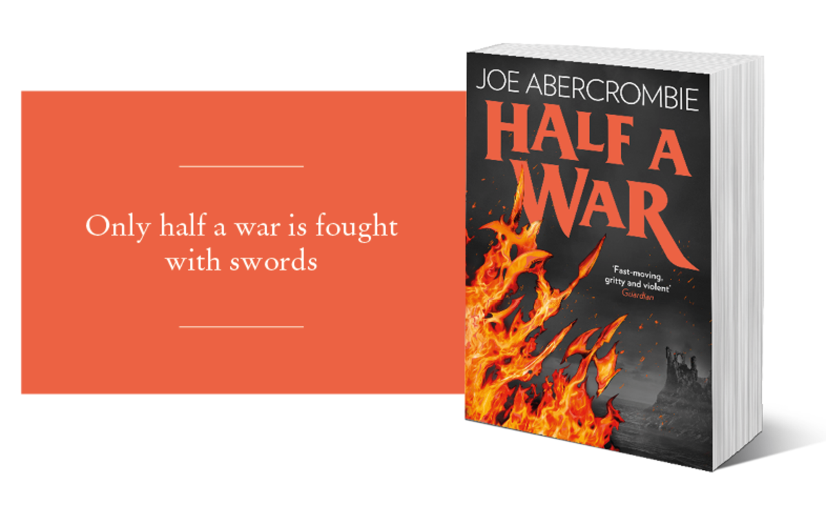 HarperCollins promotional material for Half a War.