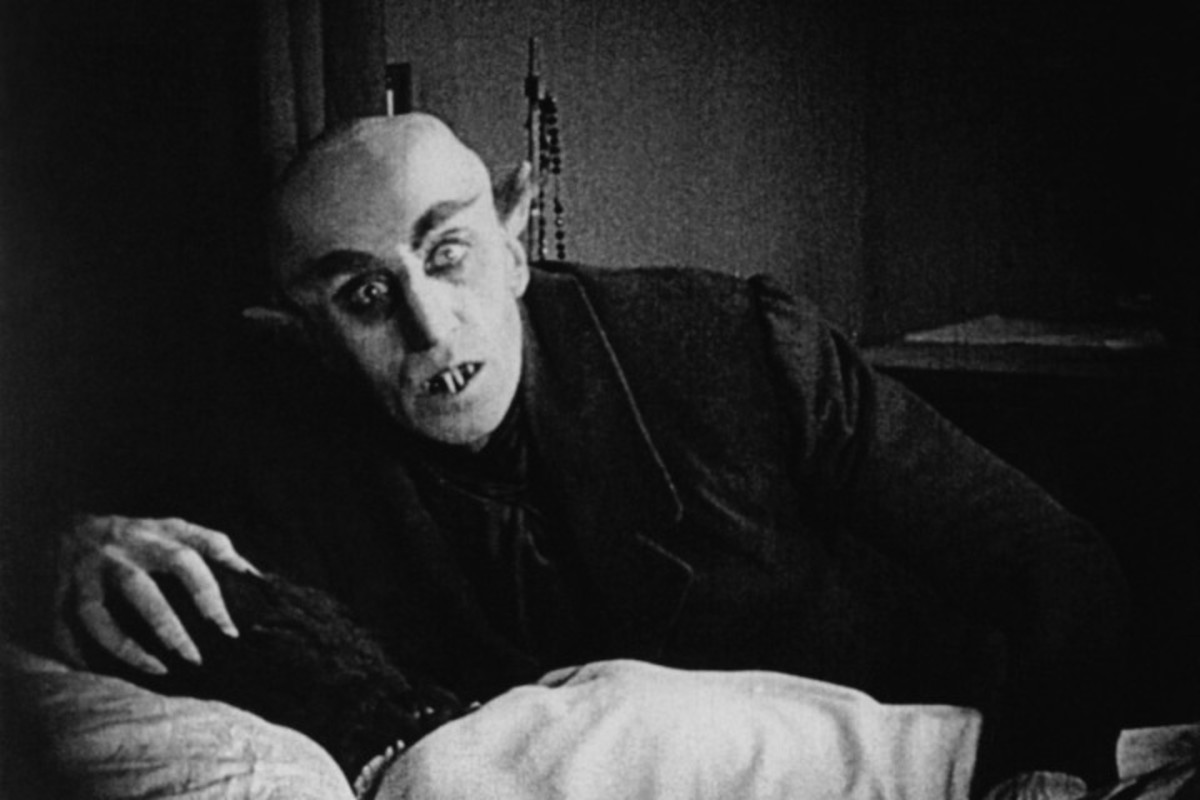 2. Best Vampire Movies; Nosferatu (1922)