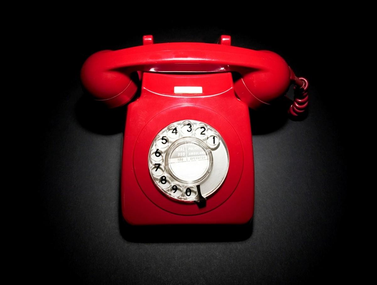 Spooky phone calls