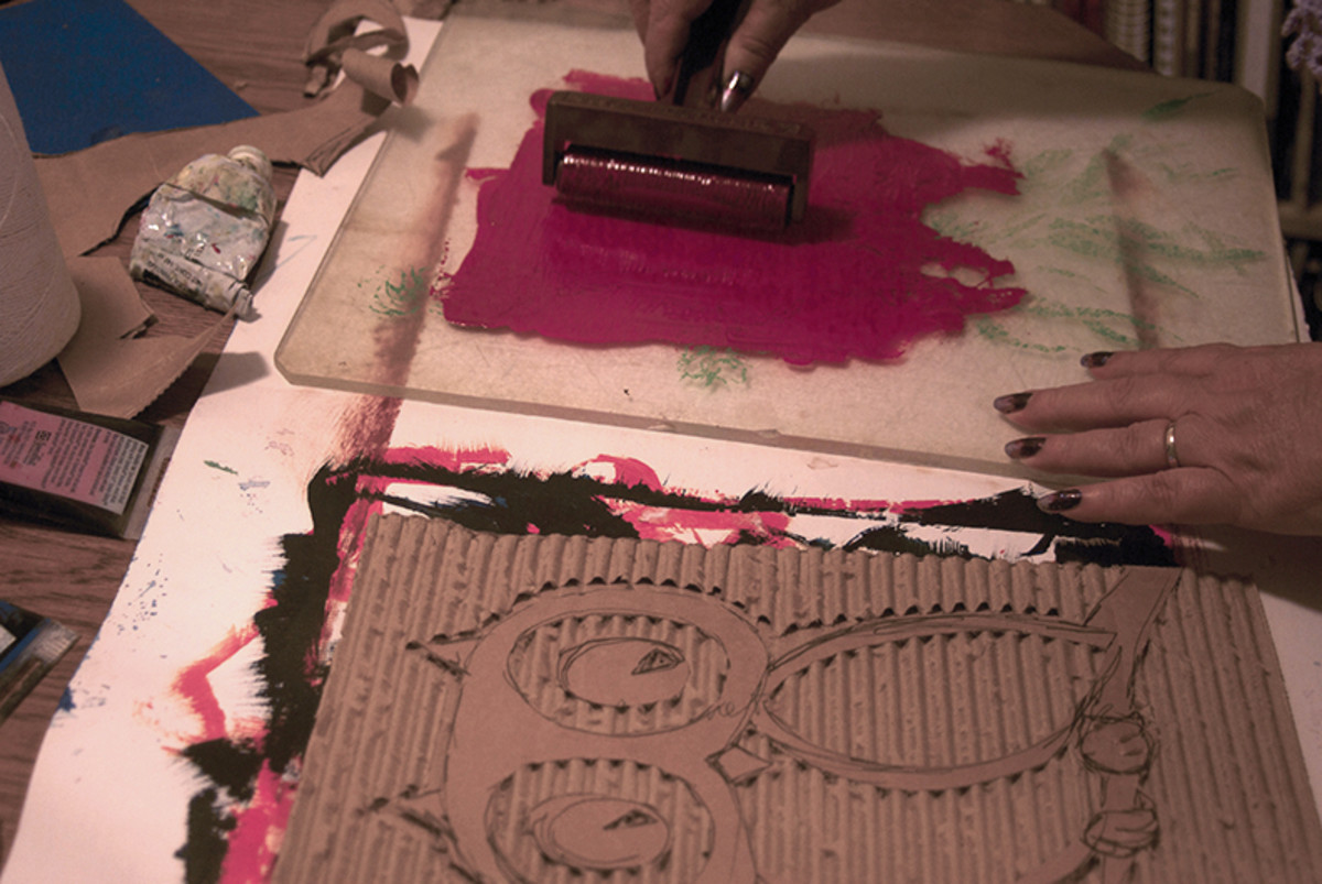 corrugated-cardboard-printmaking-for-children
