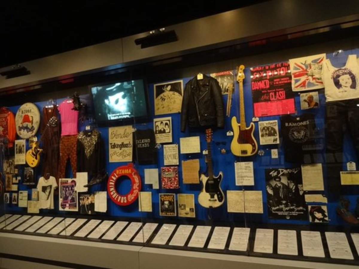 Exhibits At Rock And Roll Hall Of Fame