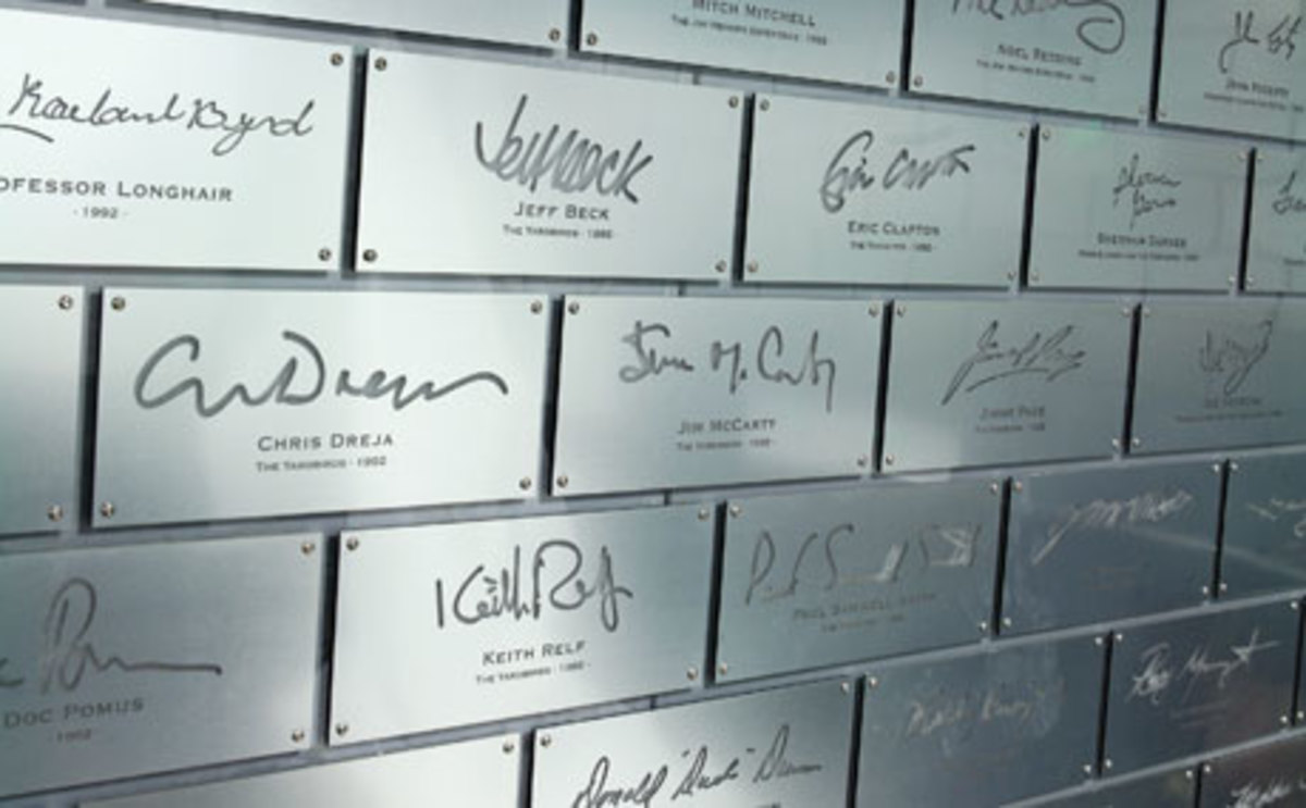 Signature Wall At Rock And Roll Hall Of Fame